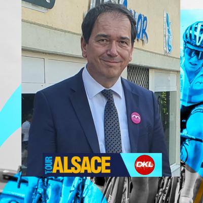En direct du Tour Alsace | Nicolas Jander, un maire d'Altkirch fier...