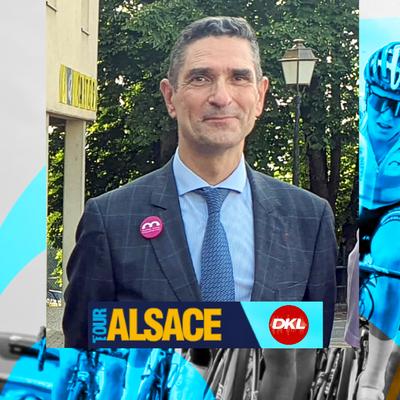 En direct du Tour Alsace | Entretien avec le Préfet du Haut-Rhin...
