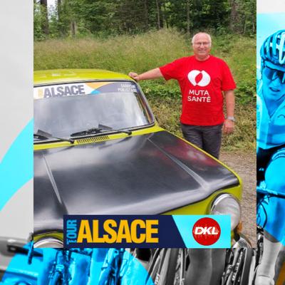 En direct du Tour Alsace | Jean-Pierre, amateur de belles voitures...