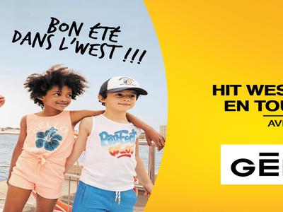 La Tournée d'été Hit West - Gémo