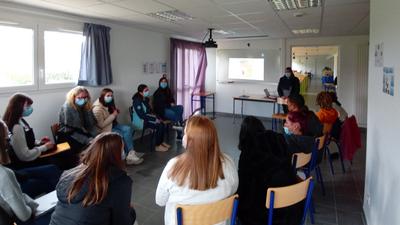Gourin: semaine dédiée aux services à la personne au lycée St-Yves
