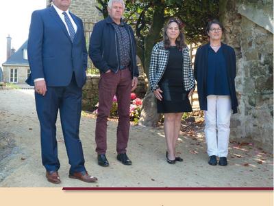 Elections départementales sur le canton de Gourin: Ghislaine...