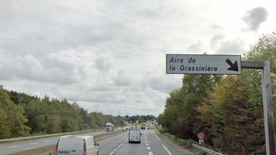 Sur l'A83, l'aire de la Grassinière ferme pour un an de travaux