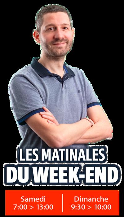 La Matinale du Week-end Axel RCA