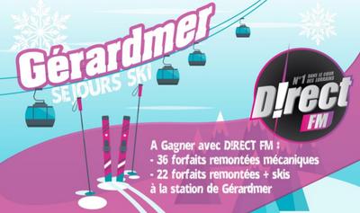 Gagnez votre forfait ski à Gérardmer dès le 7 janvier !