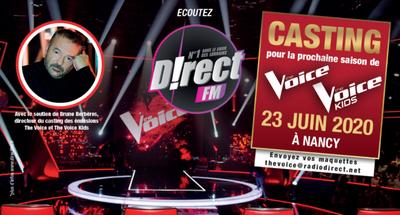 The Voice : le casting revient le 23 juin à Nancy