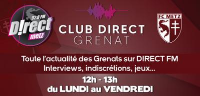 Le Club Direct Grenat vous offre un stage au FC Metz !
