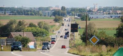 CHANTIER    Entre Ittenheim et Strasbourg, les travaux débutent...