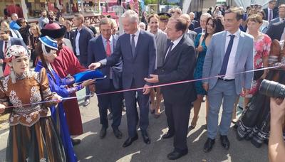 FOIRE EUROPÉENNE   Le ministre de l'Economie inaugure l'édition 2019