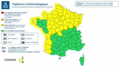 MÉTÉO   L'Alsace en vigilance jaune aux vents forts ce dimanche...