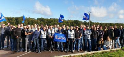 """PARIS   150 à 200 policiers alsaciens participent à la """"Marche de..."""