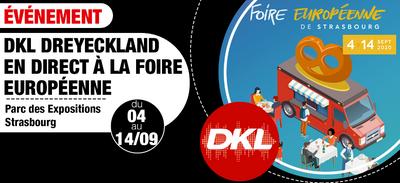 DKL sera présent à la Foire Européenne de Strasbourg