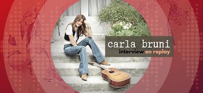 REPLAY | Retrouvez l'interview de Carla Bruni en intégralité !