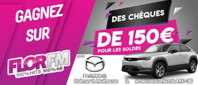 GAGNEZ DES CHEQUES DE 150€ AVEC LE MAZDA MX-30
