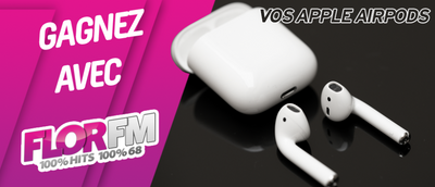 Gagnez vos Apple Airpods