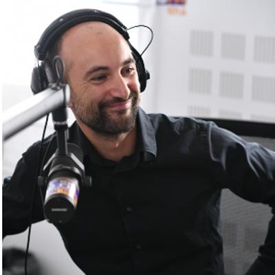 Fabrice Aubry, la voix de l'info locale