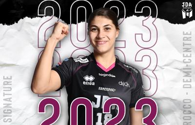 Hand féminin : Ilona Di Rocco reste à Dijon jusqu'en 2023