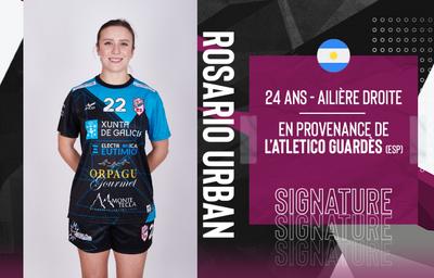 Handball féminin : une joueuse internationale argentine débarque à...