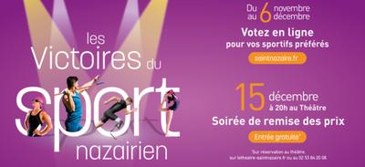 Victoires du sport nazairien : vous pouvez voter !