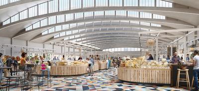 Saint-Nazaire : découvrez le projet de rénovation des halles