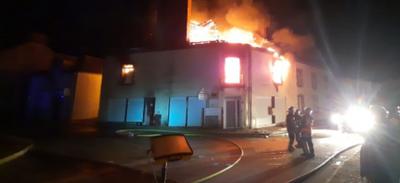 Guémené-Penfao : un incendie au milieu de la nuit dans le secteur...
