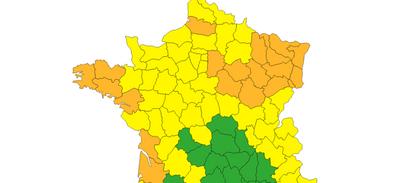 Météo : la Loire-Atlantique désormais en vigilance orange...