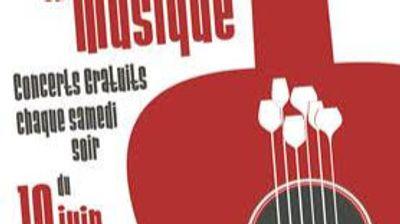 [ CULTURE/LOISIR  ] Les Terrasses en musique c'est jusqu'au 28 août...