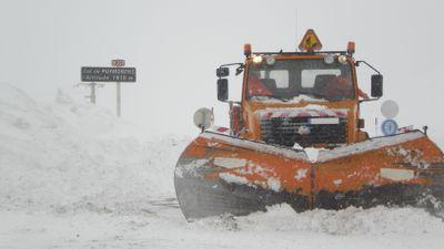 Pyrénées-Orientales : la neige a continué de tomber en montagne ce...