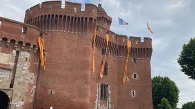 Perpignan:la ville se met aux couleurs de l'USAP.