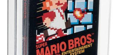 Super Mario Bros. : un jeu bat un record aux enchères !