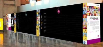 Tours, Limoges, Paris… un mur d'expression installé dans 15 gares...