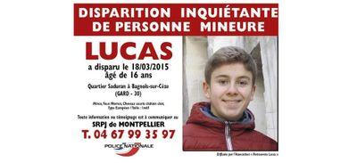 Ado disparu en 2015 : le corps de Lucas Tronche retrouvé ?