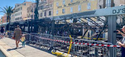 En Corse, plusieurs incendies ont eu lieu dans des établissements de nuit dans la nuit de lundi à mardi