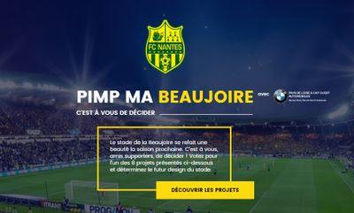 FC Nantes : le club vous propose de personnaliser le stade de la...