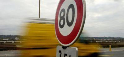 La limitation à 80 km/h, bientôt suspendue ?