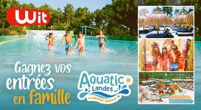 Gagnez vos 4 entrées à Aquatic Landes