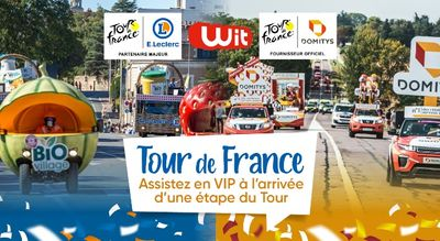 Tour de France : vivez les arrivées de la course en VIP à Libourne...