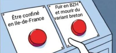 Covid-19 : quand le variant breton inspire les blagues des...