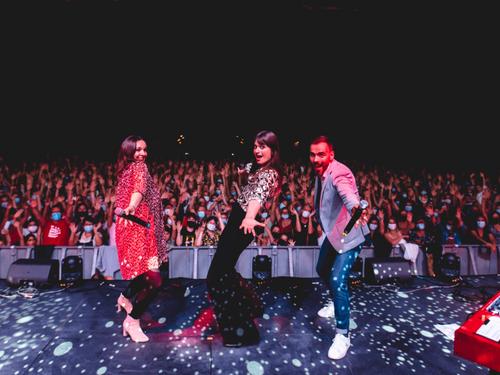 Julien Doré, Clara Luciani et Louane en Concert Privé Alouette à...