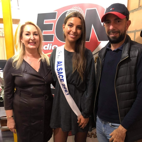 Cécile Wolfrom Miss Alsace 2021 - 12/10/2021