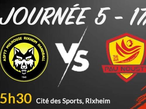 ASPTT Mulhouse Rixheim handball : prochain match dimanche contre PAU