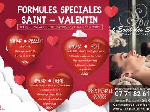 Gagnez votre formule duo spéciale St-Valentin au spa L'Eveil des Sens