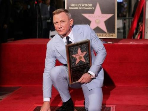 Daniel Craig a son étoile sur le Walk of Fame