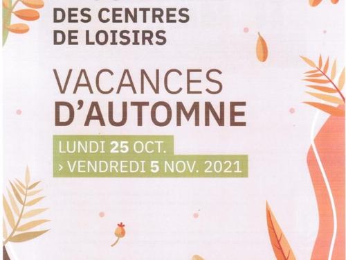 PROGRAMME DES CENTRES DE LOISIRS VACANCES D'AUTOMNE - Vire