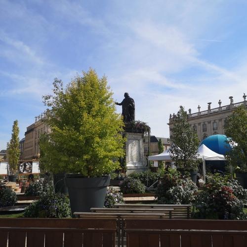 (Photos) : Le Jardin éphémère de Nancy, ça commence ce vendredi