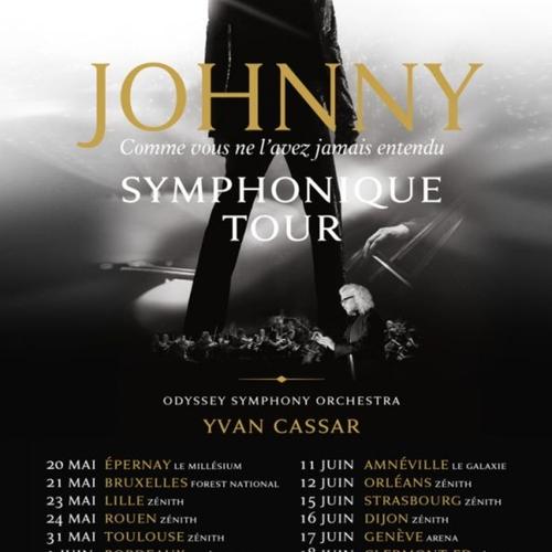 Johnny Symphonique Tour au Zénith de Toulouse