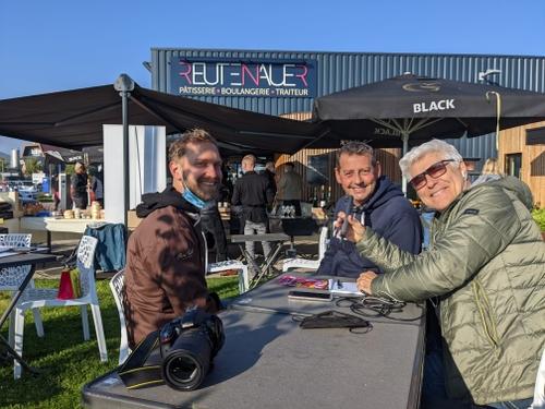 Michel en direct avec Michaël Reutenauer de Saverne à l'occasion de...