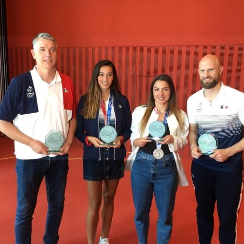Strasbourg : des champion(ne)s olympiques pour donner le coup...
