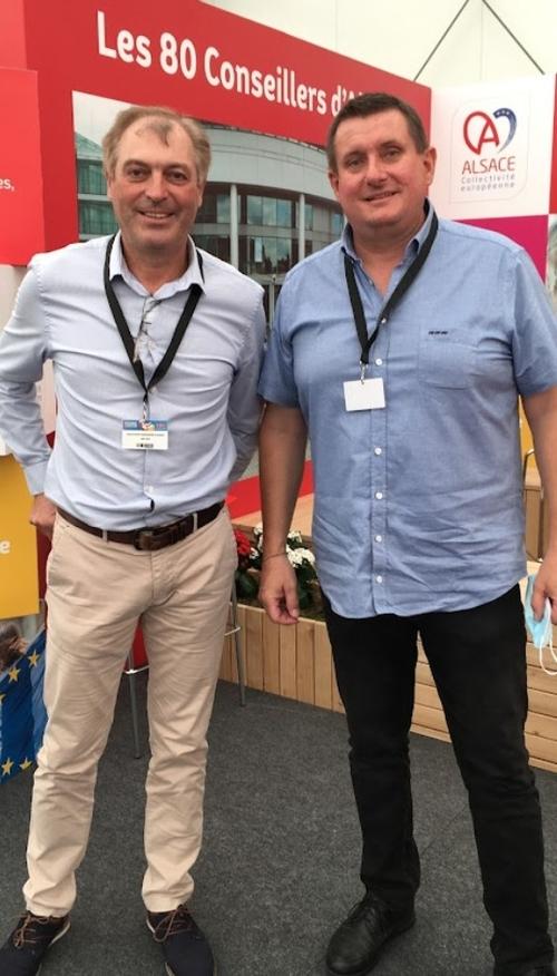 Bonjour MM. les maires d'Itterswiller et Riquewihr