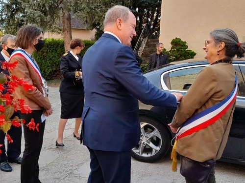 Haut-Sundgau : retour sur la visite du prince Albert II de Monaco à...